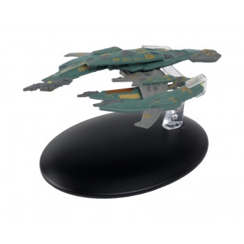 Breen Warship Modell mit deutschem Magazin #69 Eaglemoss Star Trek