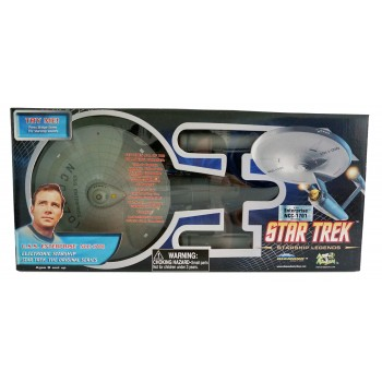 U.S.S. Enterprise NCC-1701 Star Trek Modell HD-Edition - mit Licht und Sound 30 cm