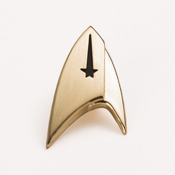 Discovery Command Logo Pin - Star Trek 30mm
