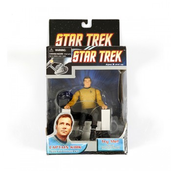 Captain Kirk mit Captains Stuhl - Star Trek Action Figur