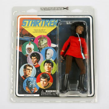 Uhura Action Figur - Retro Star Trek
