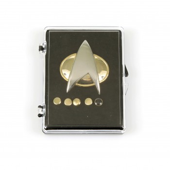 Communicator + Rankpin Set - The Next Generation 6teilig - Star Trek
