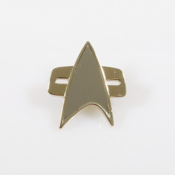 Communicator Pin - Voyager + DS9 medium Star Trek
