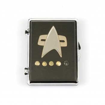 Communicator + Rankpin Set - Voyager + DS9 - 6teilig - Star Trek