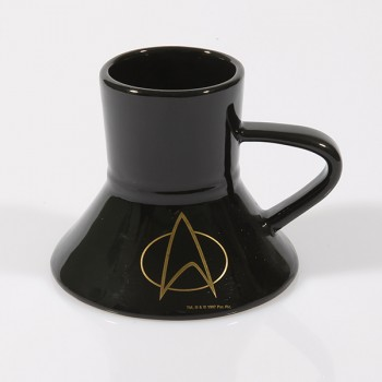 Warp Speed Tasse Star Trek The Next Generation Communicator 24-Karat