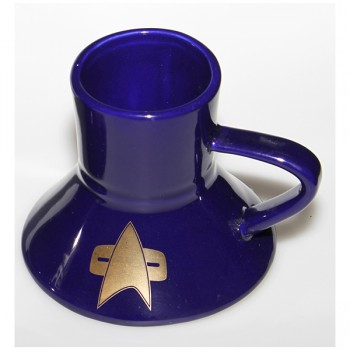 Warp Speed Tasse Star Trek Voyager Communicator 24-Karat