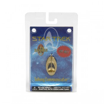 Bajoranischer Communicator Logo - mit Sound - Star Trek