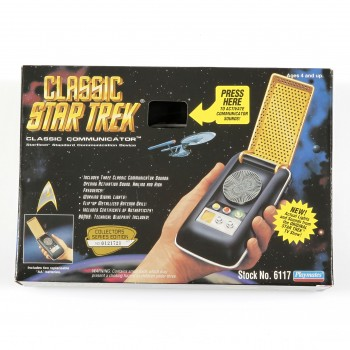 Classic Starfleet Communicator Star Trek