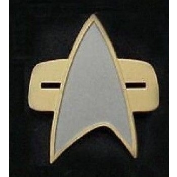 Communicator Pin matt - Voyager + DS9 - Star Trek