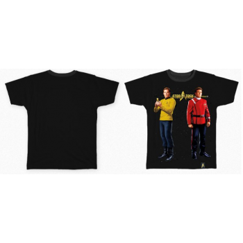 Star Trek 50 Anniversary James T. Kirk Shirt Raumschiff Enterprise