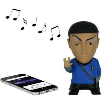 Bluetooth Lautsprecher Mr. Spock Star Trek