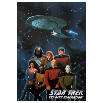 Next Generation Crew Poster Star Trek