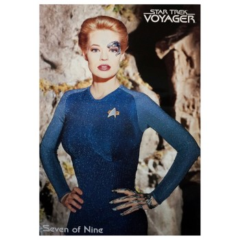 Seven of Nine - Poster Star Trek