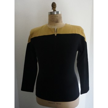 Voyager Uniform Shirt - Engineering Gold M-L - Baumwolle - Star Trek