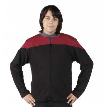Voyager Uniform Jacke - Command Rot L - Baumwolle - Star Trek