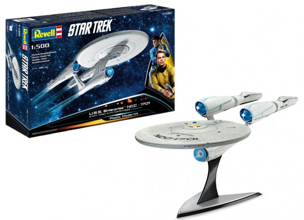 Star Trek USS Enterprise Into Darkness Modellbausatz