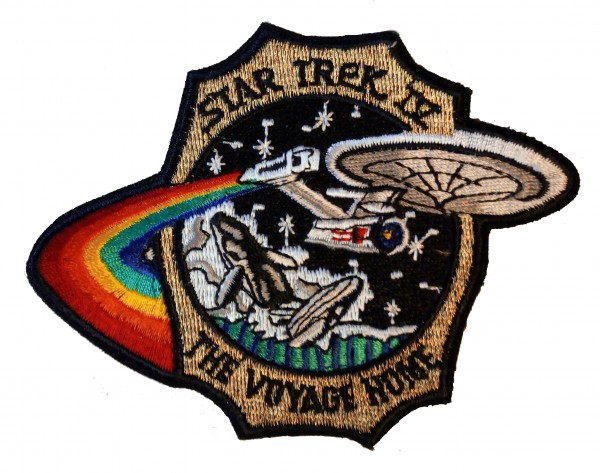 ST IV The Voyage Home Patch - Star Trek