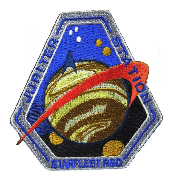 Jupiter Station Starfleet R&D Patch - Star Trek