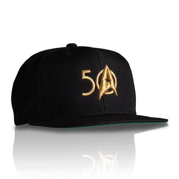 Star Trek Base-Cap 50 Jahre Edition