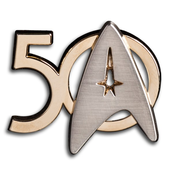 Pin 50 Years Star Trek from Roddenberry