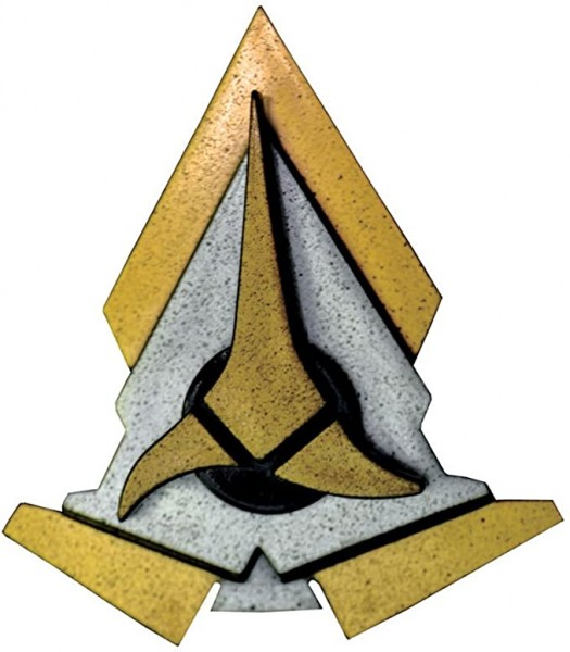 Klingonen Communicator Logo - with Sound - Star Trek