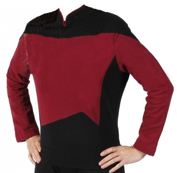 Next Generation Uniform Shirt Captain red - M- super deluxe Cotton