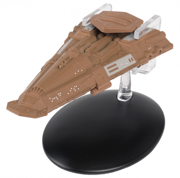 Bajoran Freighter Star Trek starship model with english magazine #101 Eaglemoss