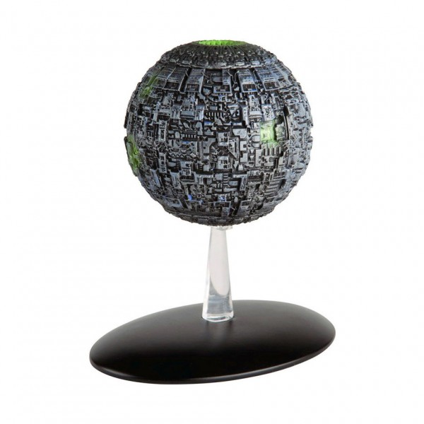 Borg Sphere starship model with english magazin #10 Eaglemoss Star Trek