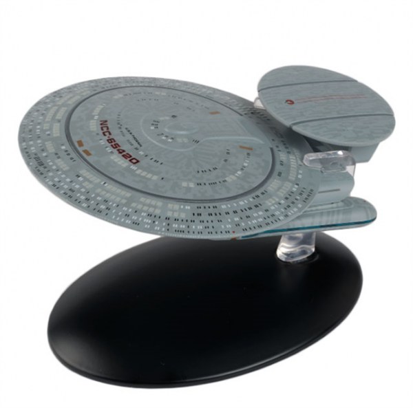 USS Phoenix NCC-65420 Star Trek starship model with englisch magazin #112 Eaglemoss