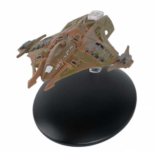 Lokirrim Warship Star Trek starship model with english magazin #113 Eaglemoss