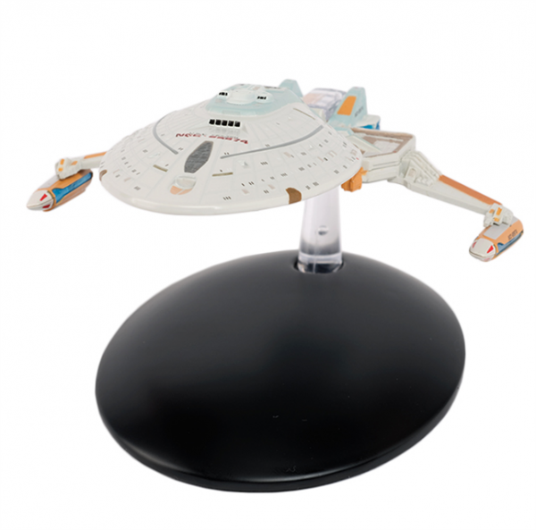 USS Yeager NCC-65674 Star Trek model with english magazin #122 Eaglemoss