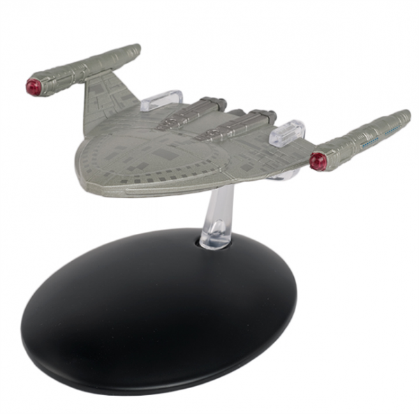 S.S. Emmette Star Trek starship model with englisch magazin #124 Eaglemoss