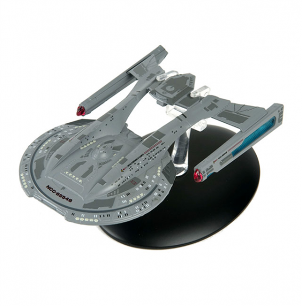 USS Thunderchild NCC-63549 starship model with english magazin #12 Eaglemoss Star Trek