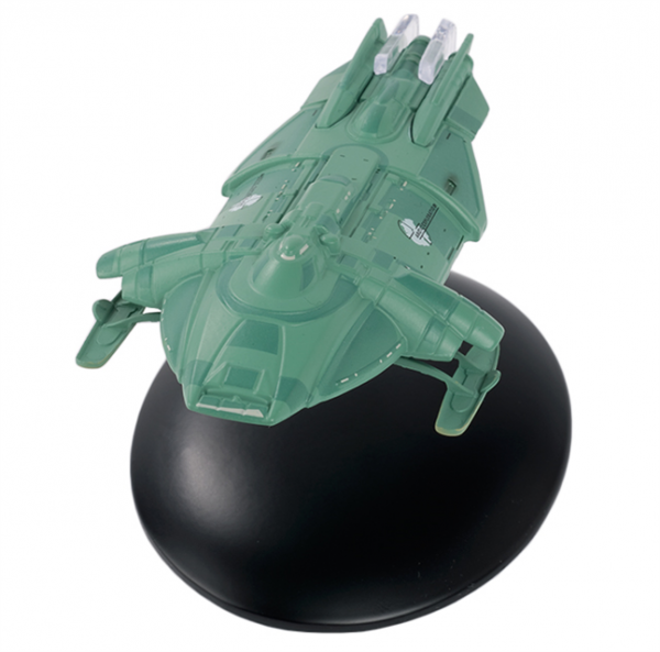 Arctic One (United Earth) Star Trek starship model with englisch magazin #131 Eaglemoss
