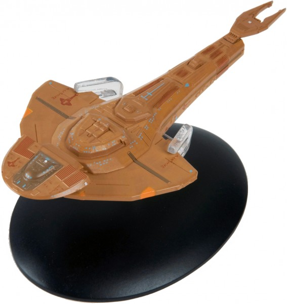 Cardassian Galor Class starship model with english magazin #14 Eaglemoss Star Trek