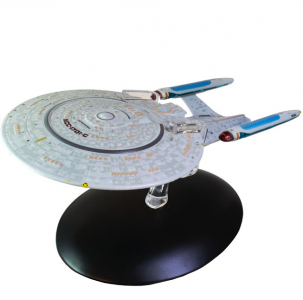 USS Enterprise NCC-1701-C Probert Concept Special Issue Star Trek starship model with english magazin Special Issue Eaglemoss