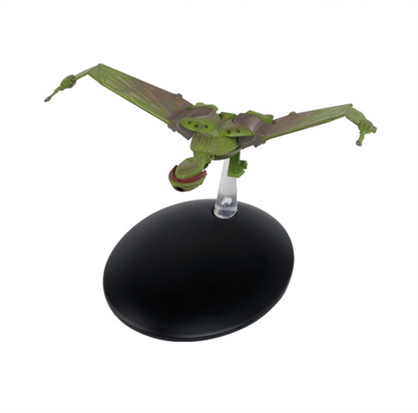 Klingon Bird-of-Prey Landed Position Special Edition Star Trek starship model with Englisch magazine Eaglemoss