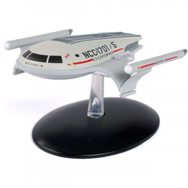 USS Enterprise Shuttlecraft Jefferies Concept Special EditionStar Trek starship model with Englisch magazine Eaglemoss