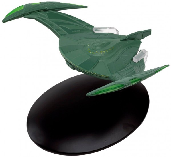 Romulan Bird-of-Prey (2152) starship model with english magazine #27 Eaglemoss Star Trek