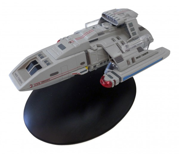 Starfleet Runabout starship model Star Trek