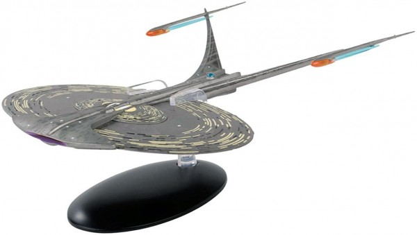 U.S.S. Enterprise NCC-1701-J Ship Special Issue XL #19  Star Trek starship model with english magazine
