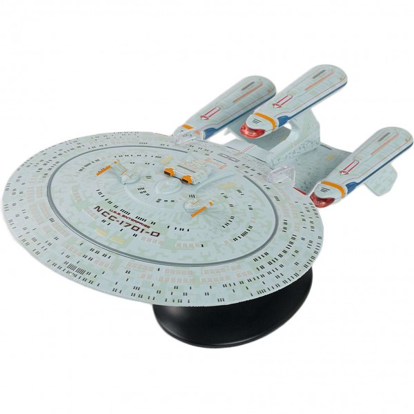 USS Enterprise NCC-1701-D Dreadnought (All Good Things) Ship Ship Special Issue XL Star Trek starship model with english magazine
