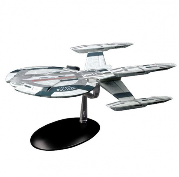 U.S.S. Buran NCC-1422 Star Trek Discovery starship model Eaglemoss # 7