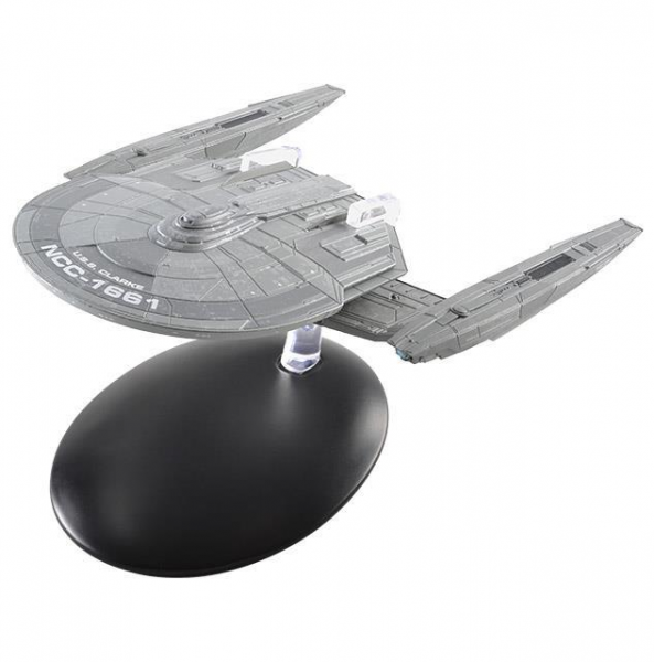 U.S.S Clarke NCC-1661 Star Trek Discovery starship model Eaglemoss # 9