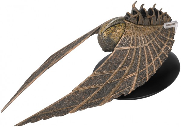 Beacon of Kahless Starship Starship Star Trek Discovery starship model Eaglemoss # 21