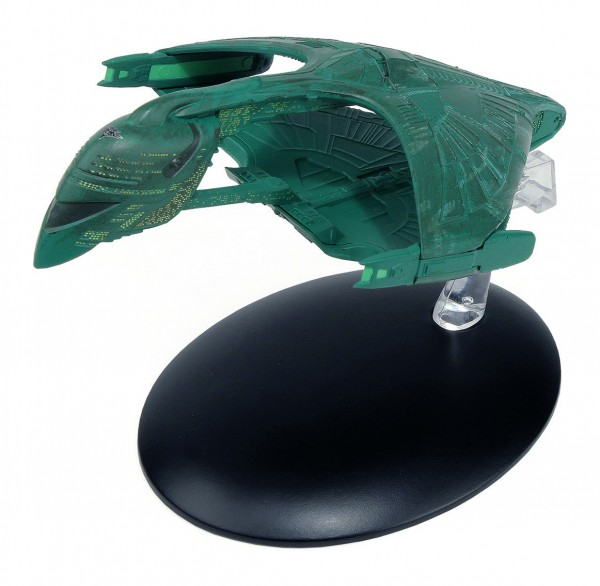 Romulan Warbird starship model with english magazin #5 Eaglemoss Star Trek