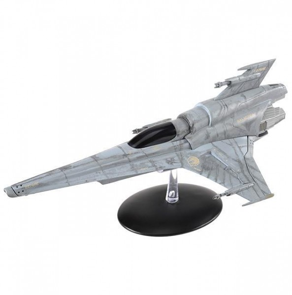 Viper Mk VII Battlestar Galactica starship model with englisch magazin #6 Eaglemoss