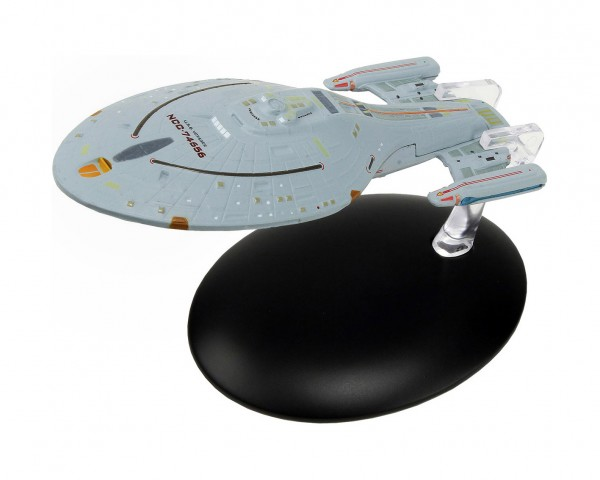U.S.S. Voyager NC-74656 starship model with english magazin #6 Eaglemoss Star Trek