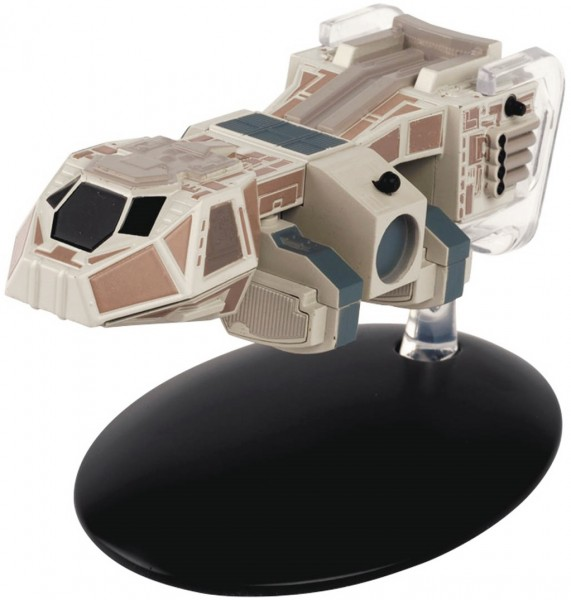 Neelix´s Shuttle Baxial starship model with english magazine #76 Eaglemoss Star Trek