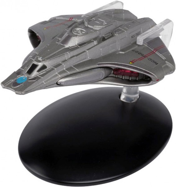 Starfleet Federation Mission Scout Ship starship model with english magazine #80 Eaglemoss Star Trek